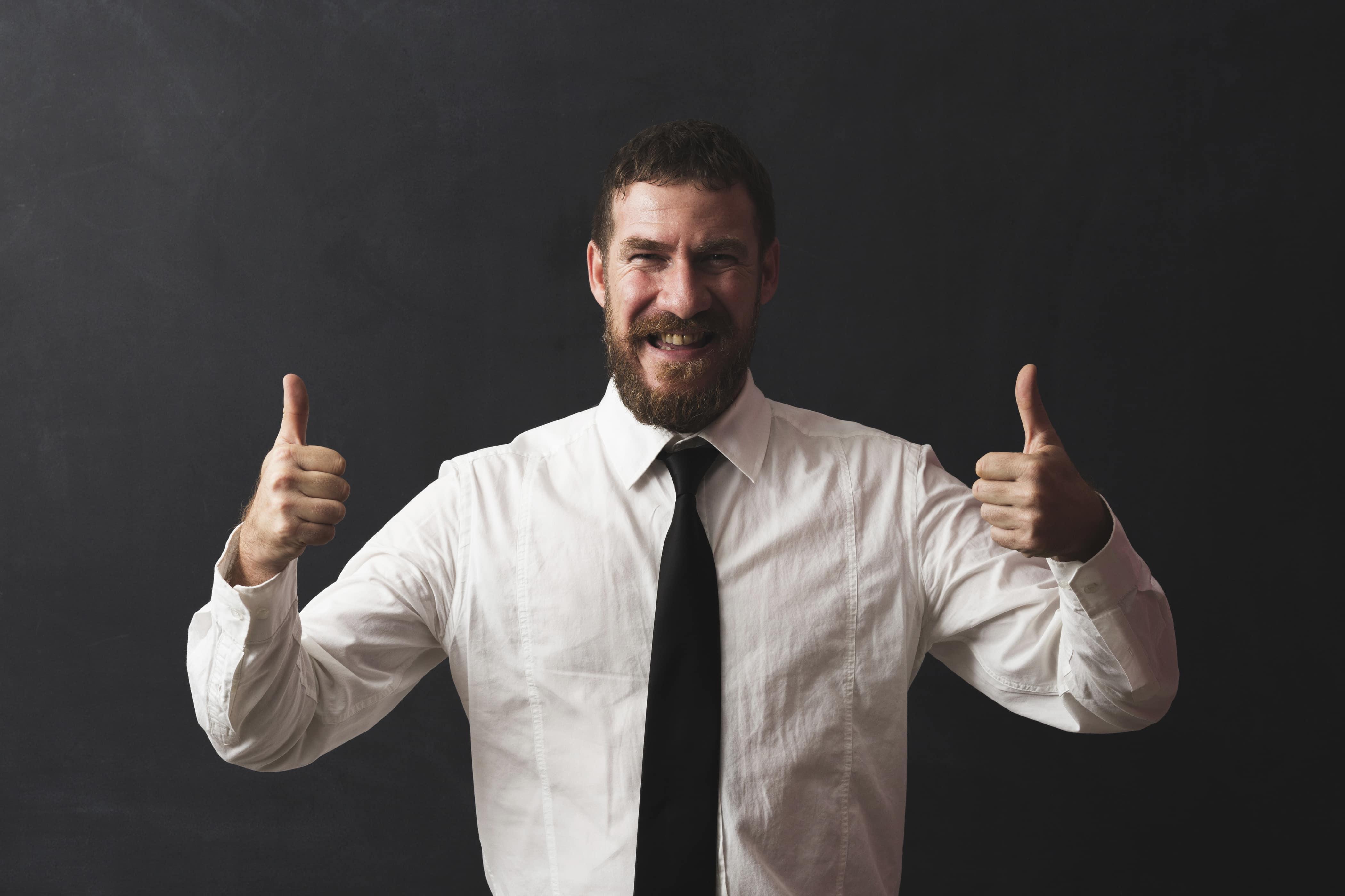 happy online teacher