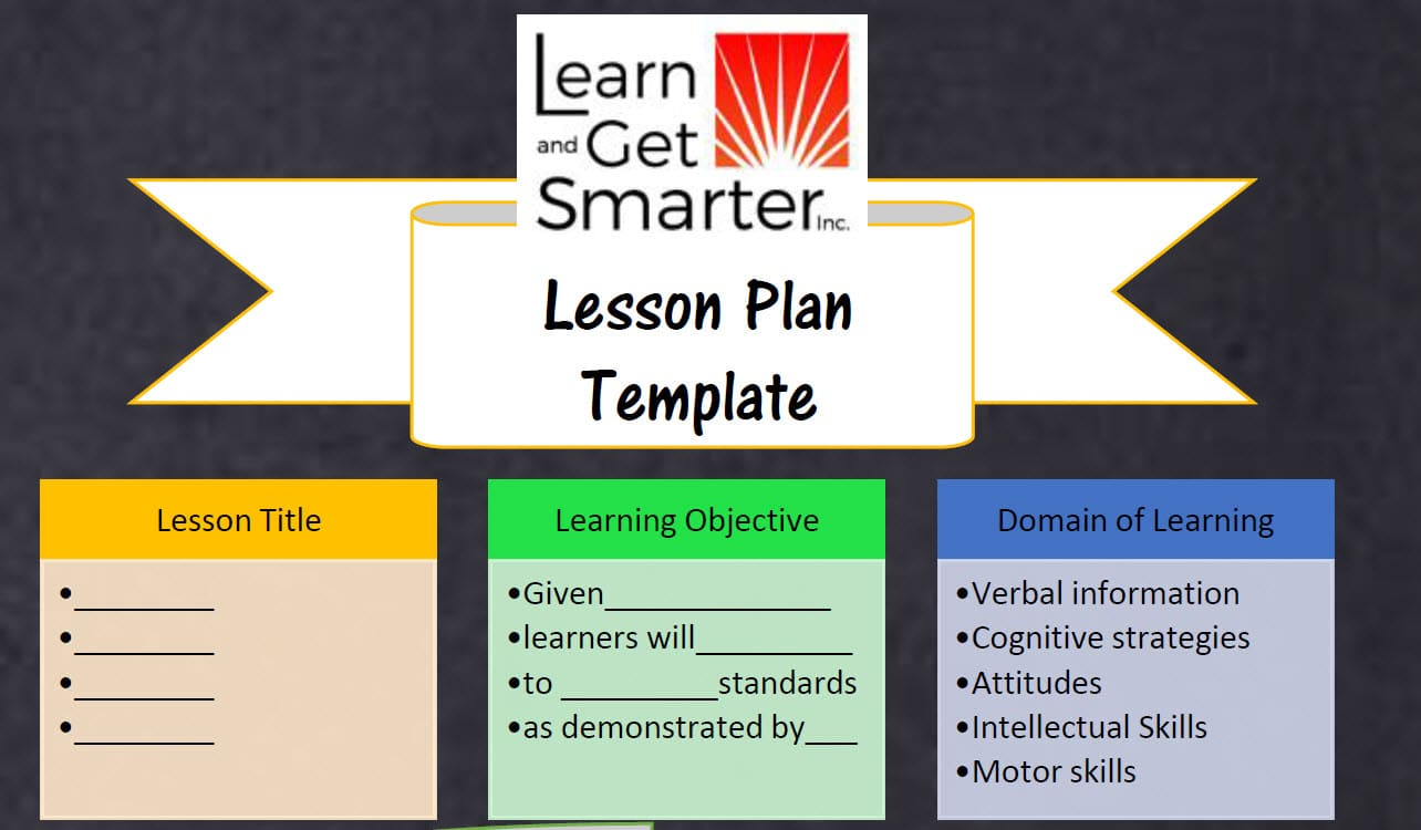 screenshot of the lesson plan infographic you can download