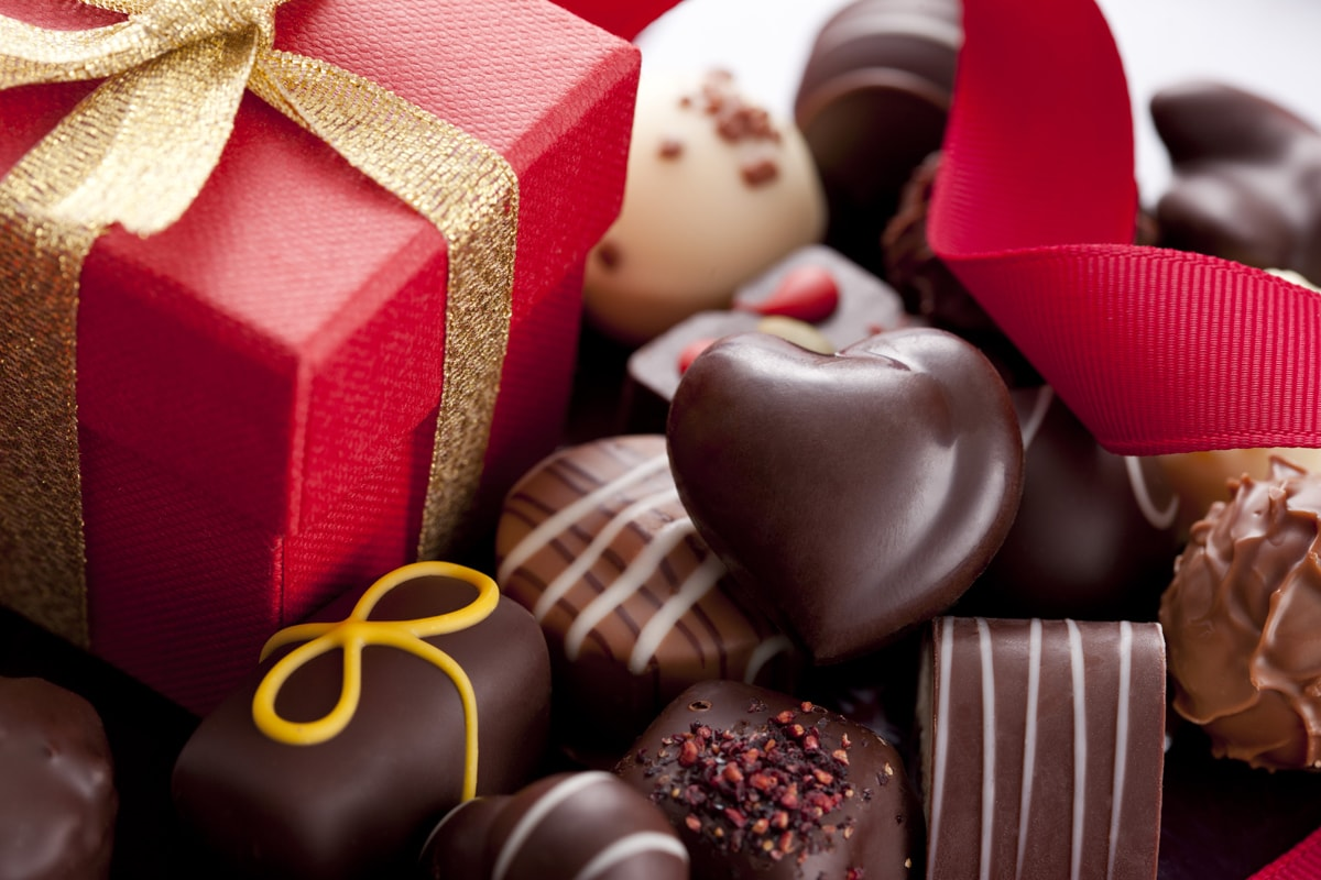 luscious Valentine's chocolates