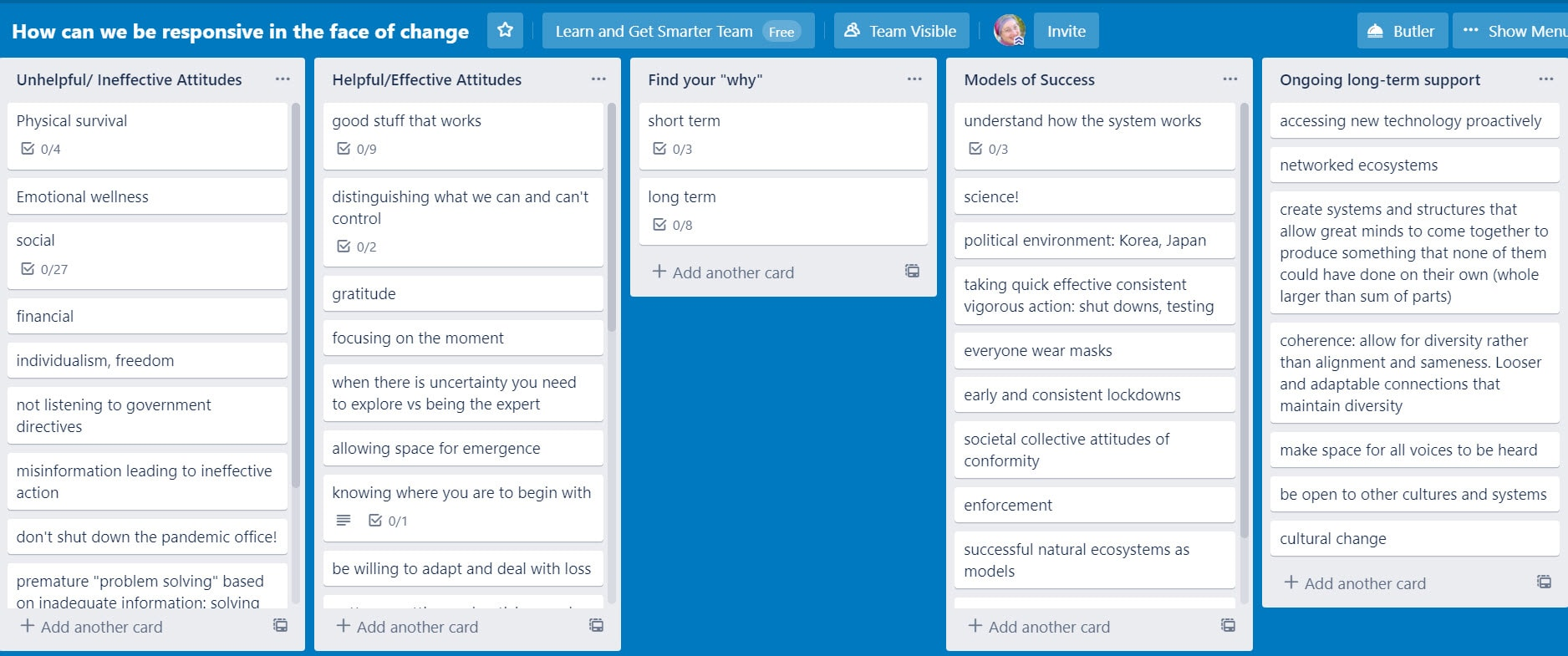 trello mindset course screenshot