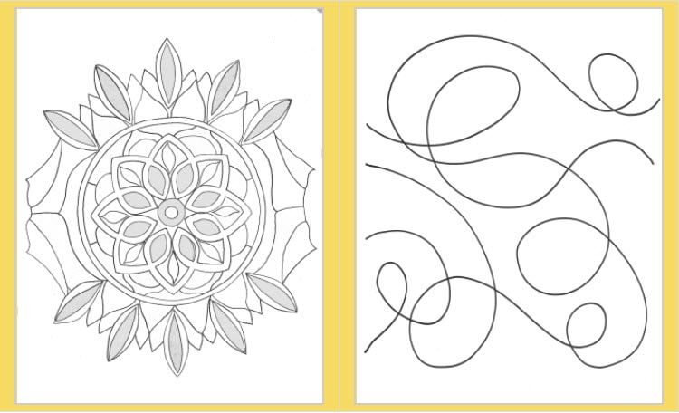 screenshot of the art materials for Alli Berman's Color Your Gratitude course