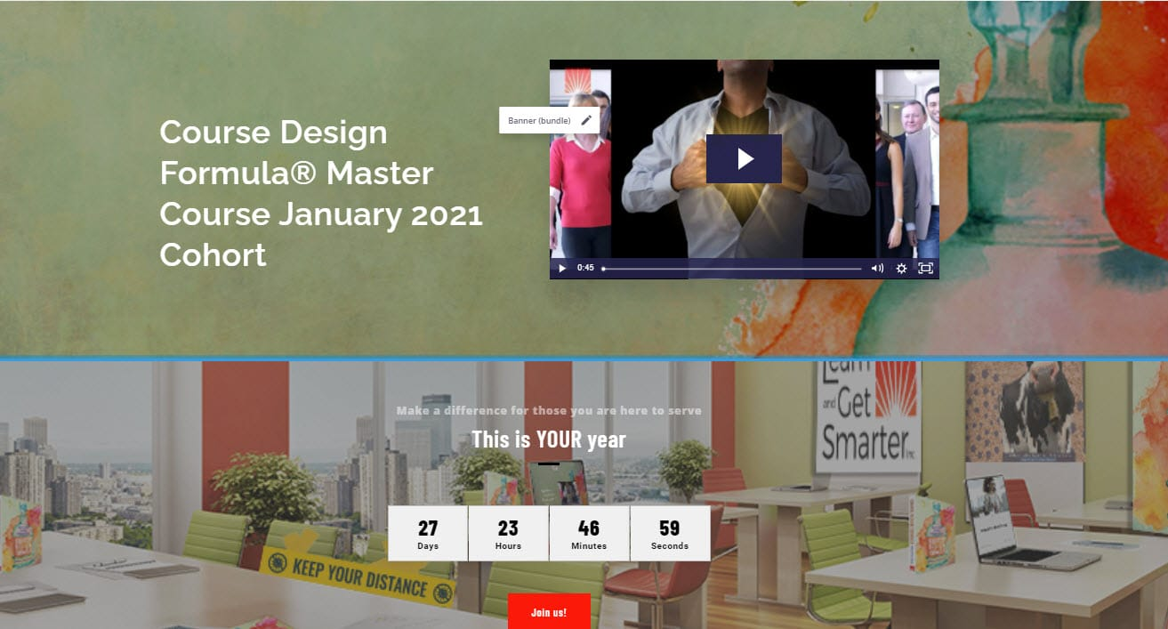 Course Design Formula Master CourseJanuary 2021 screenshot